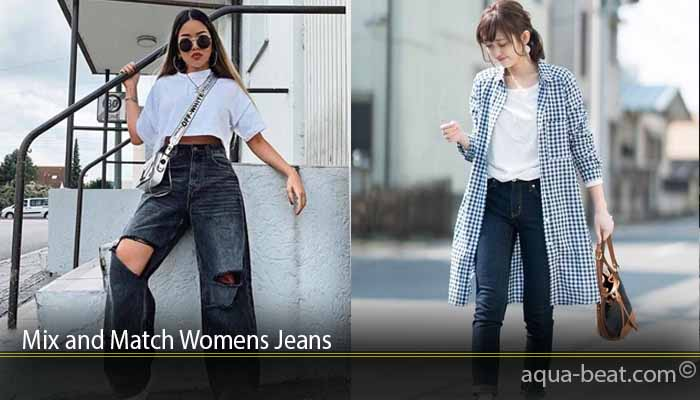 Mix and Match Womens Jeans